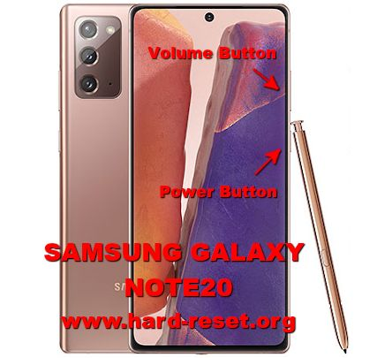 hard reset samsung galaxy note20