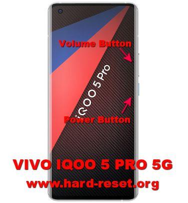 hard reset vivo IQOO 5 pro 5g