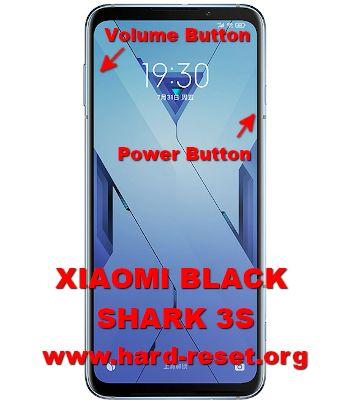 hard reset xiaomi blackshark 3s