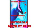 hard reset motorola moto e7 plus