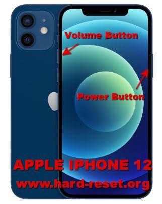 hard reset iphone 12