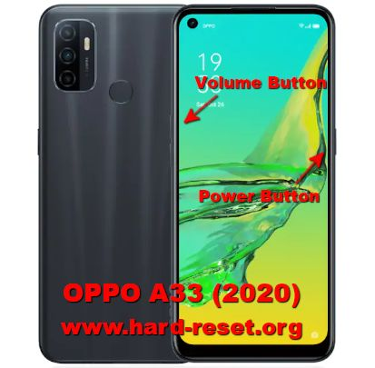 hard reset oppo a33 2020
