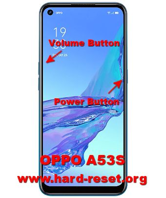 hard reset oppo a53s