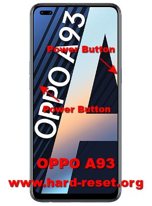 hard reset oppo a93