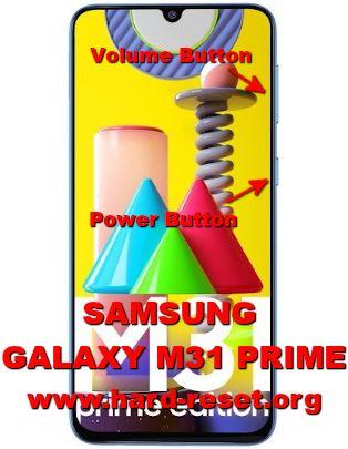 hard reset samsung galaxy m31 prime