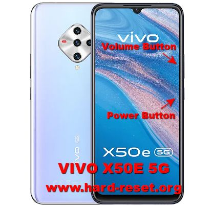 hard reset vivo x50e 5g