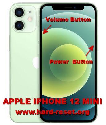 hard reset iphone 12 mini