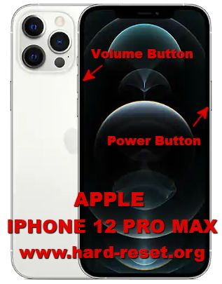 hard reset iphone 12 pro max