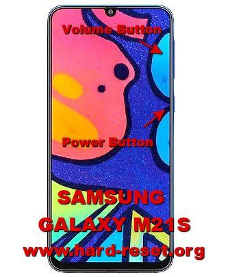 hard reset samsung galaxy m21s