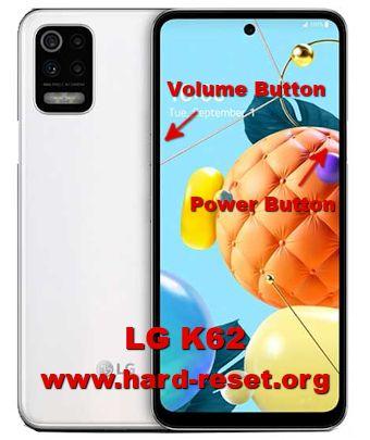 hard reset lg k62