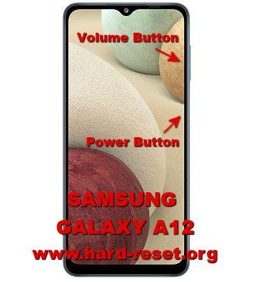hard reset samsung galaxy a12