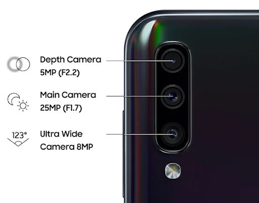 fix samsung galaxy a50 camera
