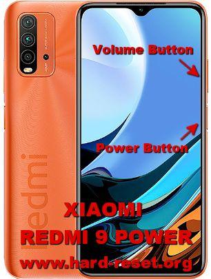 hard reset xiaomi redmi 9 power