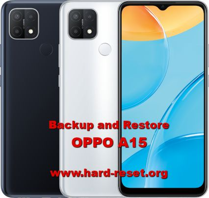 solutions to backup & restore data on oppo a15