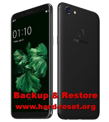 easy way to backup & restore oppo f5 important files