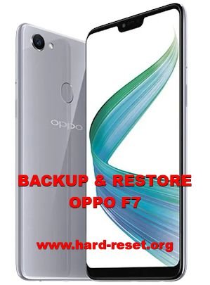 solution to backup restore data on oppo f7