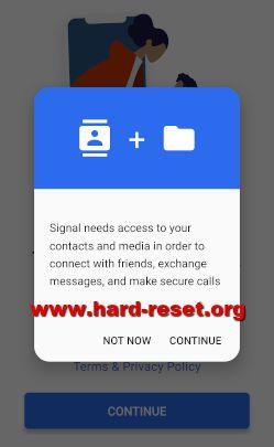 easily install signal messenger