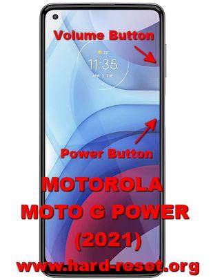 hard reset motorola moto g power 2021