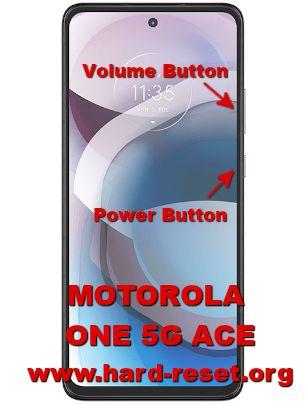 hard reset motorola one 5g ace