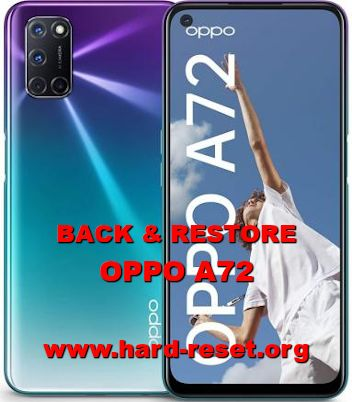 how to backup and restore data / photos / videos on oppo a72