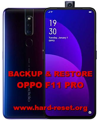 how to backup & restore data on oppo f11 pro