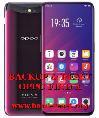 how to backup & restore data on oppo find x