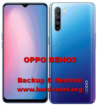 how to backup & restore data/photos on oppo reno 3