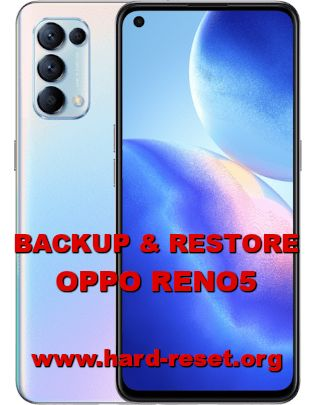 how to backup & restore data on oppo reno 5