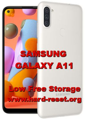 how to fix low free storage issues on samsung galaxy a11