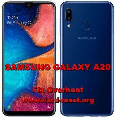 fix overheat samsung galaxy a20