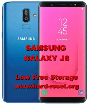 how to fix low storage issues on samsung galaxy j8 insufficient internal memory