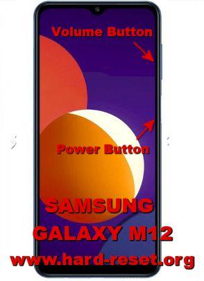 hard reset samsung galaxy m12