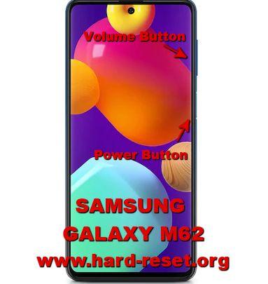 hard reset samsung galaxy m62