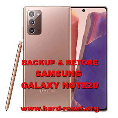 how to backup restore data on samsung galaxy note 20