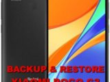 how backup & restore data on xiaomi poco c3