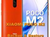 how to backup & restore xiaomi poco m2