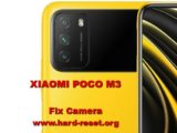 how to fix camera problems on xiaomi poco m3