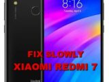 how to fix slowly response xiaomi redmi 7