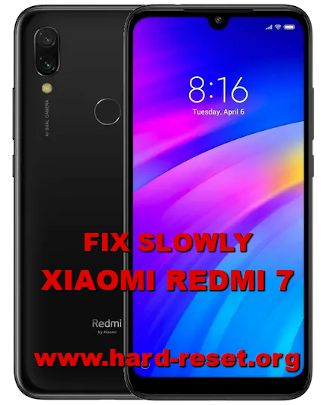 how to fix slowly response xiaomi redmi 7