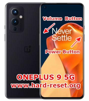 hard reset oneplus 9 5g