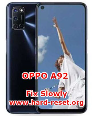 solutions to fix lagging issues on oppo a92