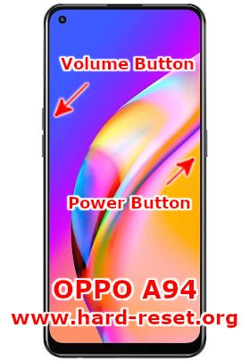 hard reset oppo a94