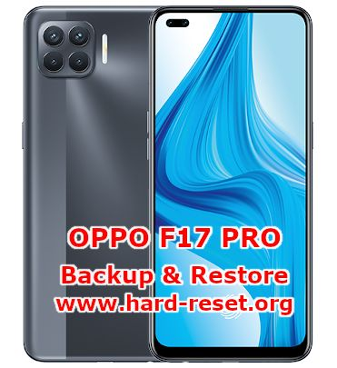 how to backup & restore data on oppo f17 pro