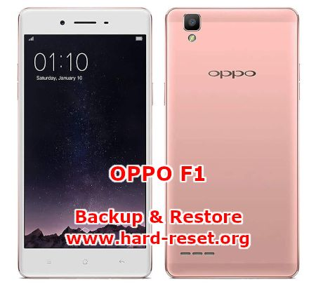 how to backup & restore data on oppo f1