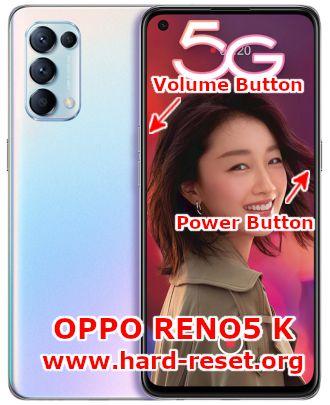 hard reset oppo reno5k PEGM10