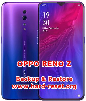 solution to backup & restore data on oppo reno z