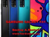 how to backup & restore data, photos, videos on samsung galaxy f41