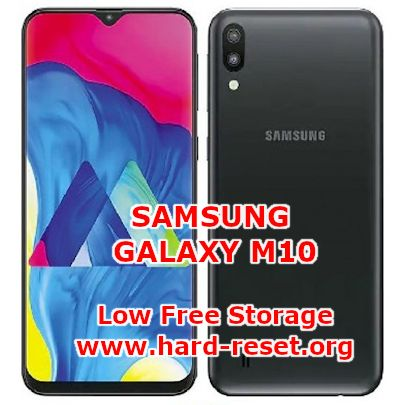 solution to fix low free storage on samsung galaxy m10