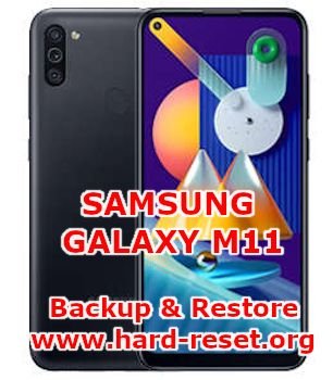 how backup & restore data on samsung galaxy m11