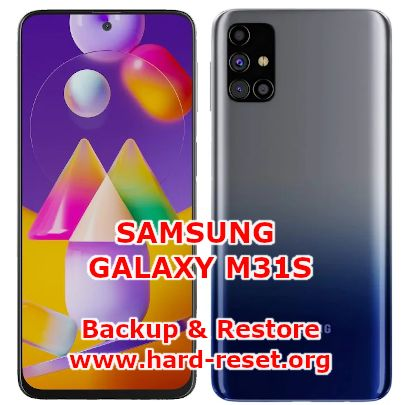 how to backup & restore data on samsung galaxy m31s (SM-M317F)